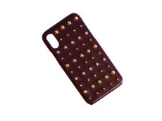 画像4: Studs iPhone case (BURGUNDY) (4)