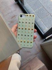画像9: Studs iPhone case (PISTACHIO) (9)