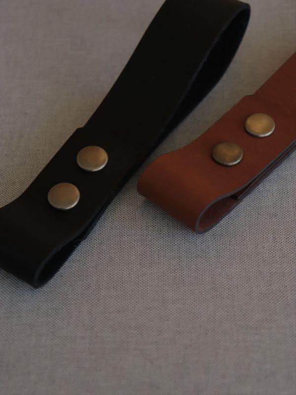 画像1: Battery Leather Band (1)